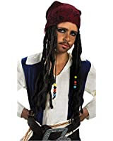 Child Jack Sparrow Bandana with Pirate Wig