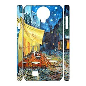 VNCASE Oil painting Phone Case For Samsung Galaxy S4 i9500 [Pattern-1]