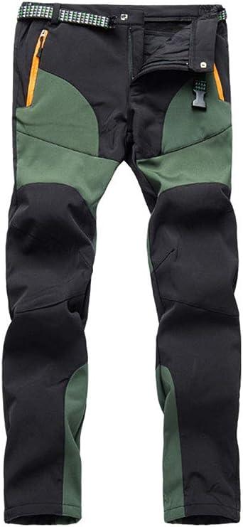 DaiHan Hombre/Mujer Pantalones Impermeables de Senderismo ...
