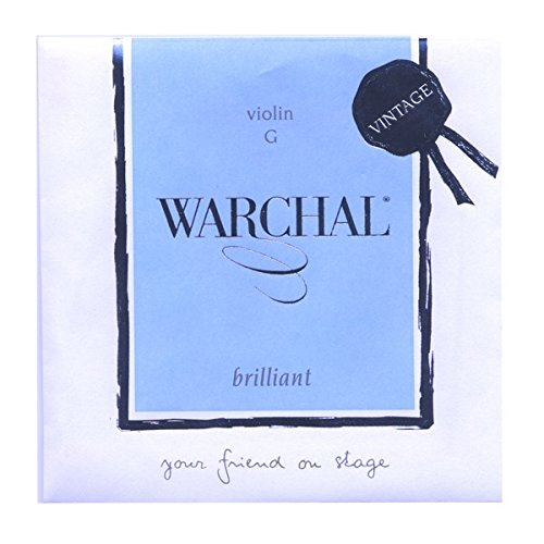 Warchal Brilliant Vintage Violin Strings 4/4, String Set, Loop End E