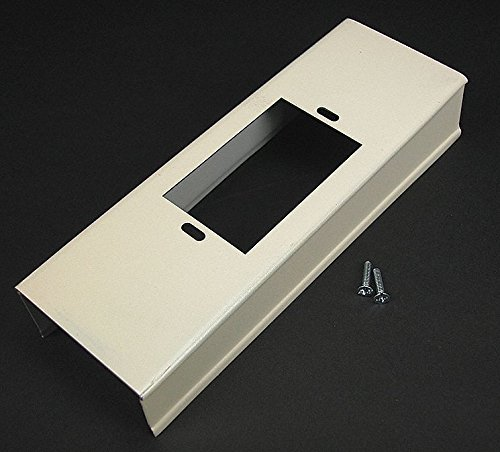 Steel Wall Box Connector For Use With 3000 Raceway, Ivory