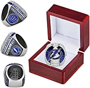 2021 Tampa'Bay 'Lightning Championship Ring with Wooden Box No. 88 Replica Official Series Stanley'