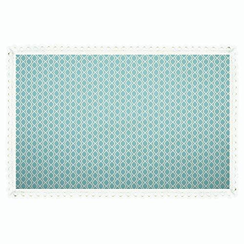 Drops Tablecloth Pool Green (55