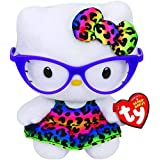 Pelucia Hello Kitty Óculos TY - DTC