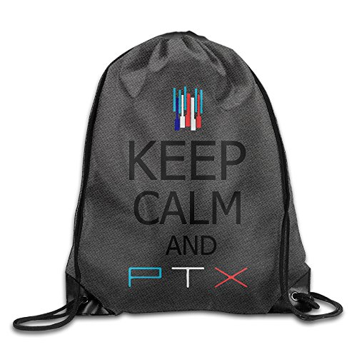 Pentatonix Sing Off Christmas - NCKG Keep Calm And Pentatonix Ptx Durable Drawstring Pack Outdoor Valise Bag