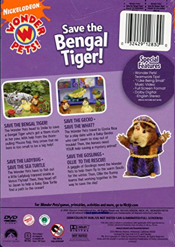 Amazon com: Save the Bengal Tiger: Wonder Pets: Movies & TV