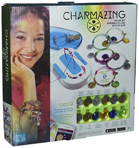 ship Bracelet Making Kit with Charms and Gemstones - Deluxe Kit Nature - SMU-906 ()