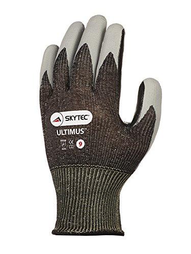 noir//gris clair Lot de 2 Skytec Gants sky67-l ultimus Gant grand