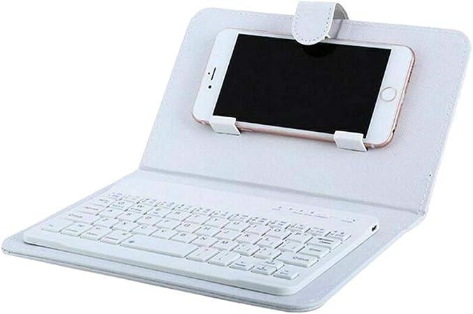Reuvv Mini Teclado Bluetooth Inalámbrico Portátil Teclado con ...