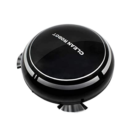 Everpert Robot Aspirador y Fregasuelos, USB Recargable Inteligente ...