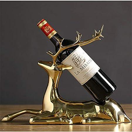 Shocly 1 Botellas EstanteríA De Vino Botellero para Estante Botellas Agua O Refrescos Escaparate Estante Tinto DecoracióN Moda Creativo