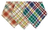 100% Cotton 13x13'' Kitchen Cloths, Set of 12 (4ea)- Coney Islnd/Haystack/Rhubarb