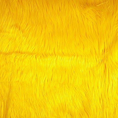 Shannon Faux Fur Gorilla Yellow