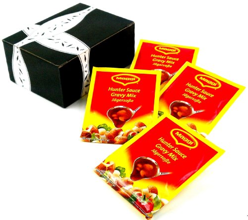 UPC 651818910625, Maggi Jägersoße (Hunter Sauce) Gravy Mix, 1.47 oz Packets in a Gift Box (Pack of 4)
