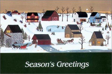 Amish Winter Season's Greeting