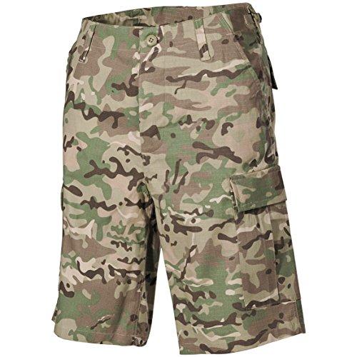 Ripstop Army Cargo Bdu Shorts - MFH US BDU Bermuda Shorts Ripstop Operation Camo size L