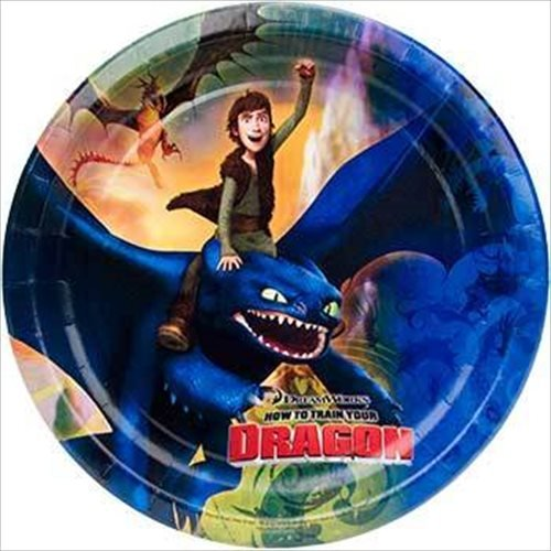 Hiccup Costume Dragon 2 (How To Train Your Dragon Party Dinner Plates)