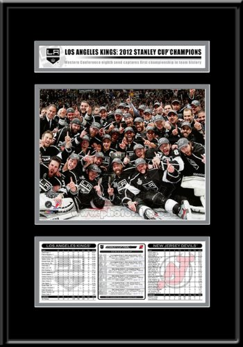 NHL Los Angeles Kings Los Angeles Kings 2012 Stanley Cup Champions Frame ? Team Celebration