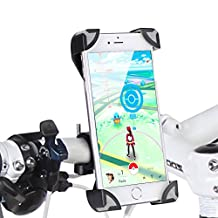 GHB Bike Phone Mount Holder Bicycle Phone Holder For Universal Smartphones IOS Android Smart Phone GPS and Other Devices