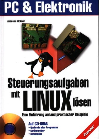 Steuerungsaufgaben mit Linux lösen, m. CD-ROM