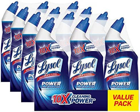 Toilet Cleaner: Lysol Lime & Rust