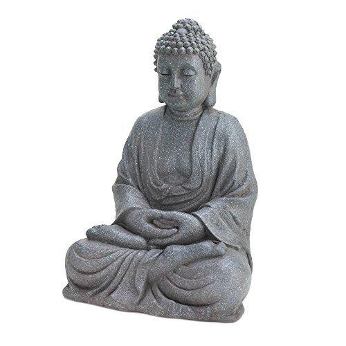 Asian Buddha Statue, Maitreya Buddha Statue Decoration, Meditating Buddha Statue by Accent Plus