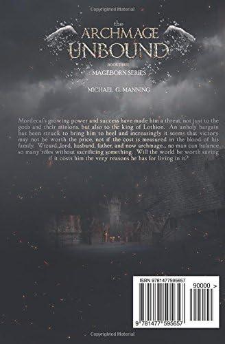 The Archmage Unbound Mageborn 3 By Michael G Manning