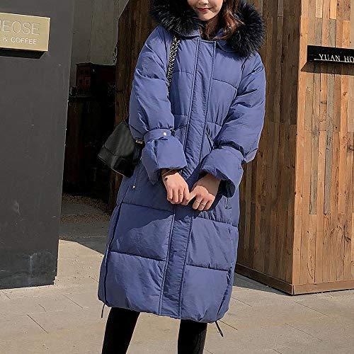 Mujer Mujer Azul Para Para Abrigo Y56 Y56 Abrigo Azul Y56 8wqHwF