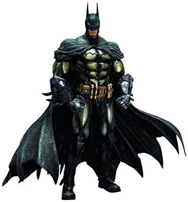 Square Enix Batman Arkham Asylum Play Arts Kai Armored Batman Action Figure by Square Enix