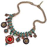 300# - 1 New Arrival Women Jewelry Pendant Choker Chunky Statement Chain Bib Necklace