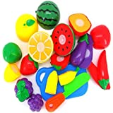 Susenstone® 1 Set Cutting Fruit Vegetable Pretend Play Children Kid Educational Toy