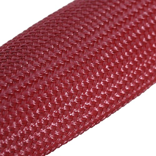 Red WINOMO 8pcs High Temperature Shield Spark Plug Wire Boots Protector Sleeve Cover for Car Truck BUS