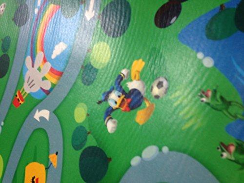 Tappeti Per Bambini Lavabili : Tappeto disney pvc gommoso 130 x 200 topolino cameretta bambini
