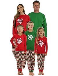 Christmas Stripe Family Matching Pajama Set