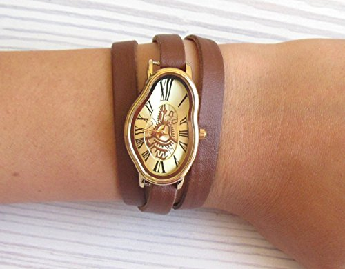 Salvador Dali Watch - Women's Watches - Leather Watch - Wrist Watch - Watches For Women - Dali Wrist Watch - Ladies Watch