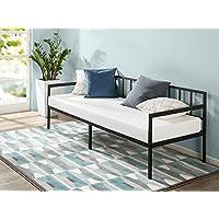 Zinus Newport 30 Inch Wide Day Bed Frame and Foam Mattress Set