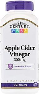 21st Century Apple Cider Vinegar 300mg 250 tablets