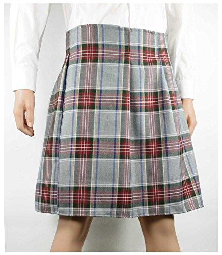 Traditional Irish Costumes (Men's Irish Scottish Kilt Costume (Standard (30-38 in. waist), Grey/Red))