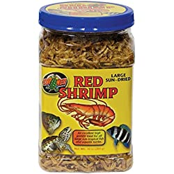 Large Sun-dried Red Shrimp 10 oz. by Zoo Med