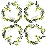 Greentime-4Pcs-Artificial-Flowers-66ftPiece-Silk-Wisteria-Ivy-Vine-Green-Leaf-Hanging-Vine-Garland-for-Wedding-Party-Home-Garden-Wall-Decoration