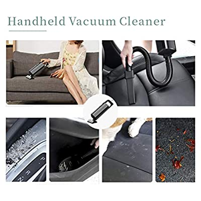 Easyshot Car Vacuum Cleaner,12V - High Power Portable Hand Vacuum Cleaner with HEPA Filter,120W Corded Car Vac with 4 Accessories: Automotive