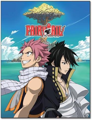 Fairy Tail Group Season 6 Microfiber Fleece Blanket Anime Manga NEW