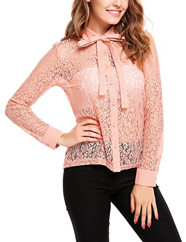 Satin Lace Top Bow - 5