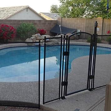 safety pool fence. Sentry Safety DIY Pool Fence By EZ-Guard 4\u0027 12\u0027 Long Removable Child