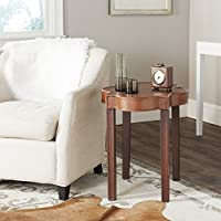 Safavieh American Homes Collection Mizel End Table, Brown