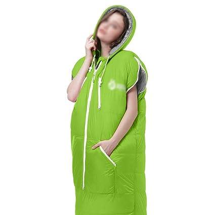Amazon.com: WYJW - Saco de dormir cuadrado 300T, para ...