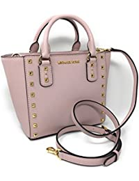 Sandrine Stud Small Leather Crossbody