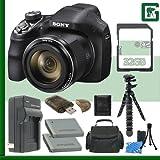 Sony DSC-H400 Digital Camera + 32GB Green's Camera Bundle 5