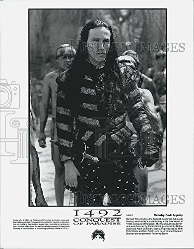 Vintage Photos 1992 Press Photo Actor Michael Wincott Stars in Film 1492 Conquest of Paradise
