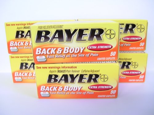 Bayer Back& Bdy Pain Xs Size 50ct Bayer Extra Strength Back